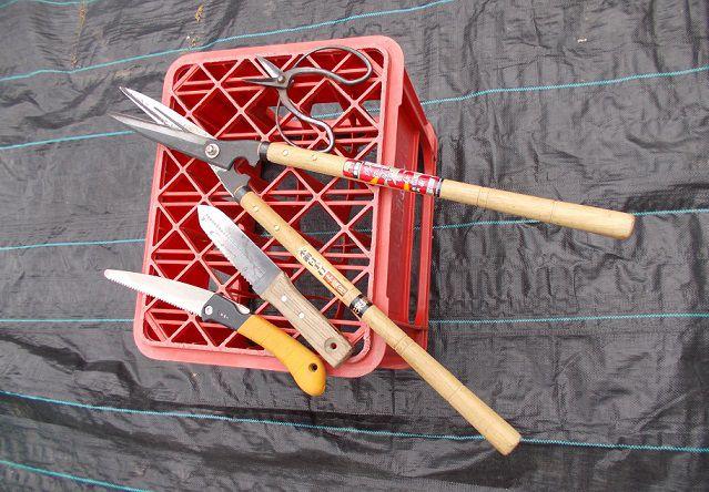 庭木の手入れに必要な道具